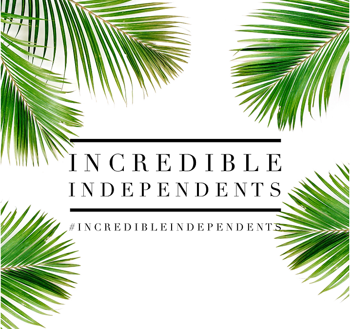 Welcome to all the #incredibleindependents out there!