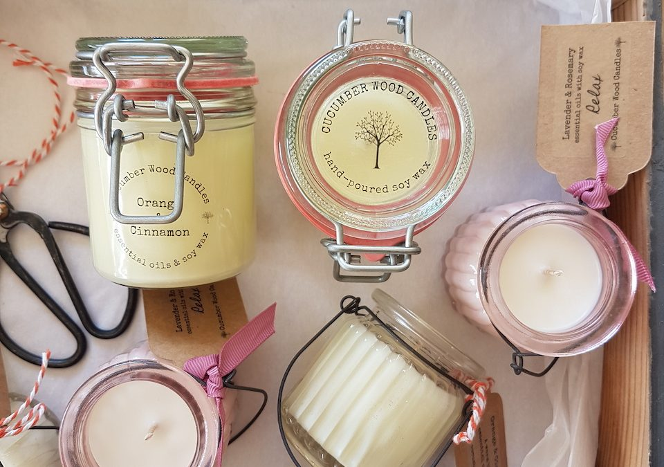 2 Minutes with Ruth from Cucumber Wood Candles – #incredibleindependents